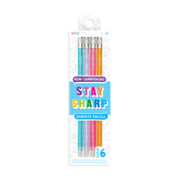 OOLY Stay Sharp Graphite Pencils in new packaging.