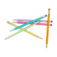 Stay Sharp Rainbow Mechanical Pencils displayed in a pick up sticks style