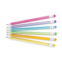 Stay Sharp Rainbow Mechanical Pencils displayed in a fan shape