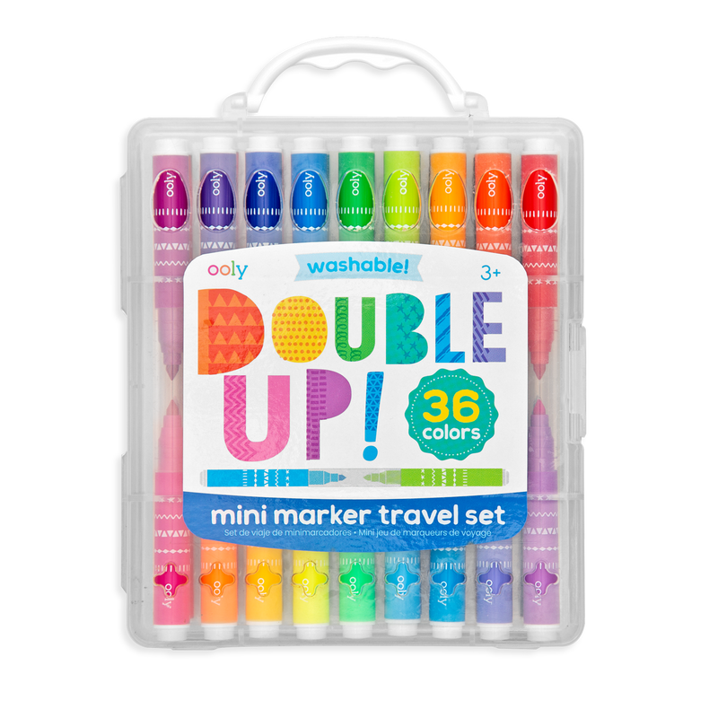 Double Up Mini Marker Travel 36 piece Set