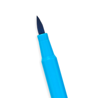 Brilliant Brush Markers brush tip - blue