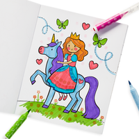 Coloring with OOLY Stampables Scented Double-Ended Stamp Markers