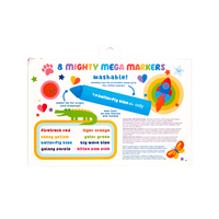 OOLY Mighty Mega Markers set of 8 in packaging