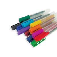 12 Color Luxe fine tip colored gel pens