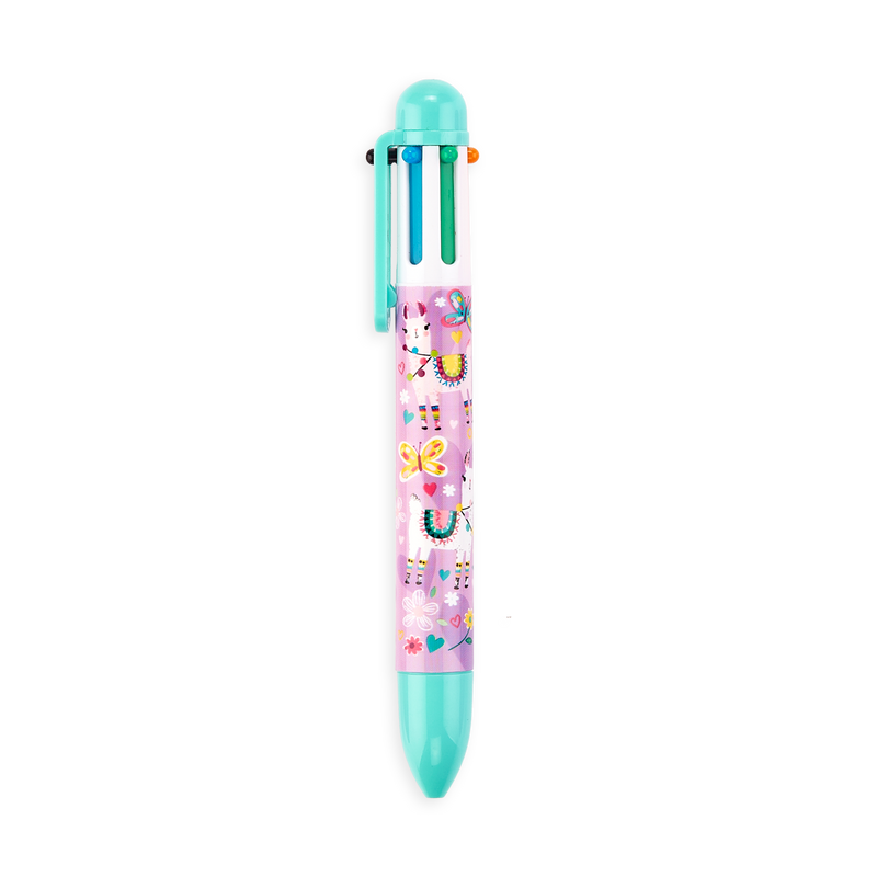 OOLY Funtastic Friends 6 click pen Teal