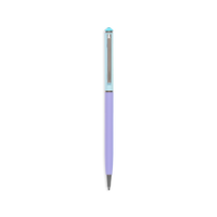 OOLY Style Writers Metal Pastel Ballpoint Pen in Blue