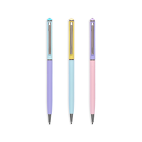Style Writers Metal Pastel Ballpoint Pens by OOLY