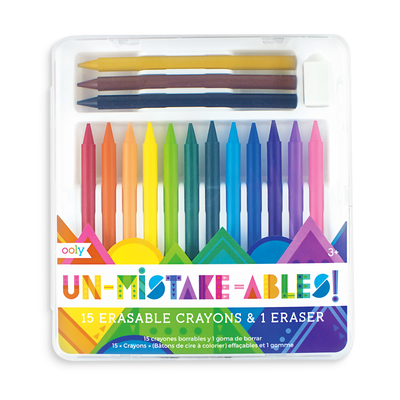 Unmistakeables Erasable Crayons