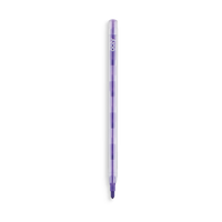 Purple Presto Change erasable crayon with eraser