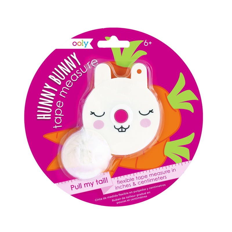 Hunny Bunny Measuring Tape in a cute bunny rabbit case