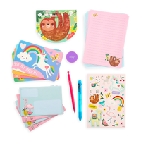 Display image of On-The-Go Travel Stationery Kit - Funtastic Friends contents