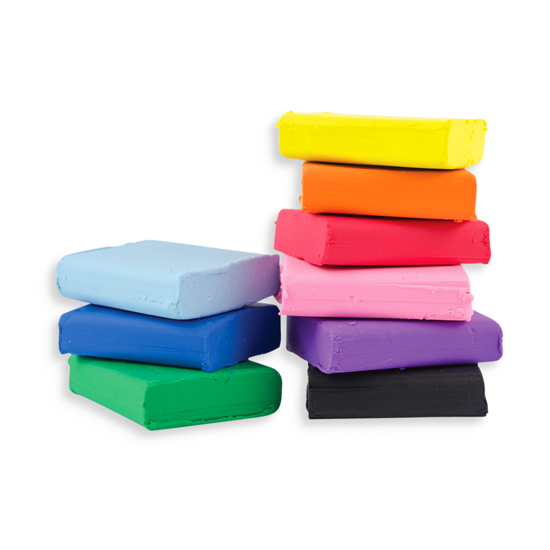 Creatibles DIY Eraser clay with 12 different colors