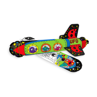 Build your own 3D paper space rocket with 3D Colorables. 2 colorable rockets in a set.