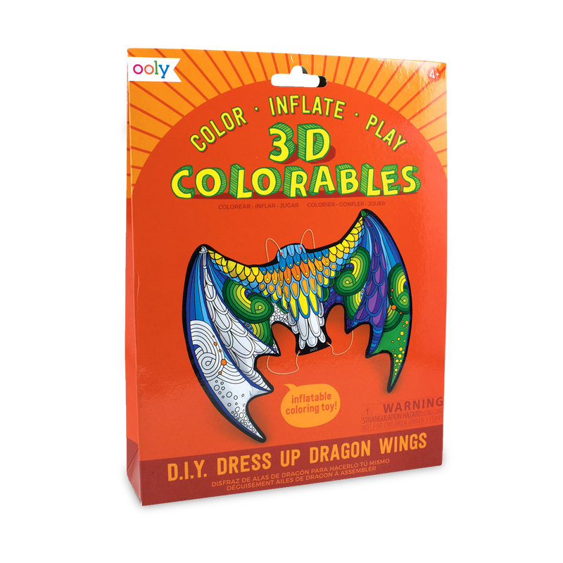 3D Colorables Dragon Wings coloring toy