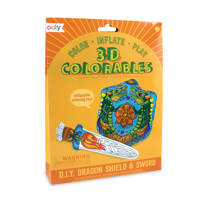 3D Colorables Dragon Shield and Sword