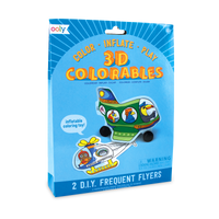 3D Colorables Frequent Flyers coloring toys set