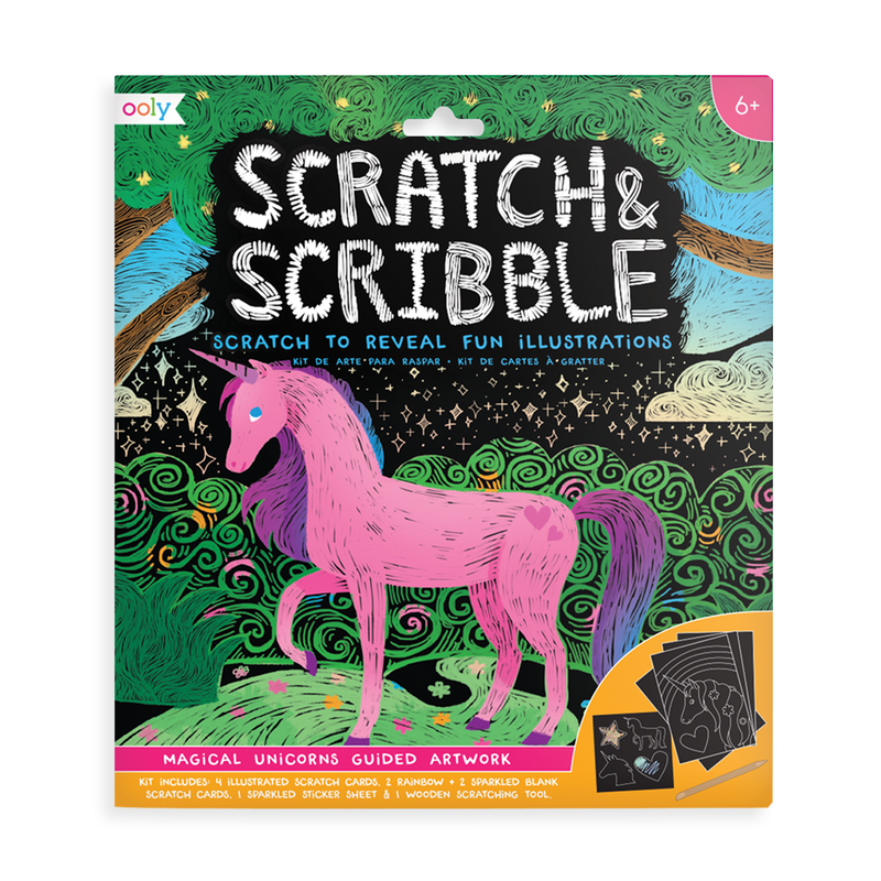 Scratch and Scribble Scratch Art Kit