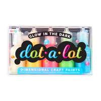 Dot A Lot Craft Paint Glow in the Dark in package