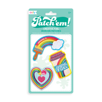Patch 'em Creative Fuel Iron On Patches - Set of 3