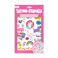 Tattoo-Palooza Temporary Tattoos - Funtastic Friends - in packaging