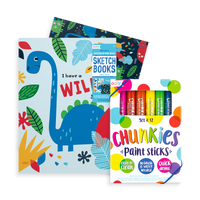 budding artist gift set with duo pad duo and chunkies paint sticks