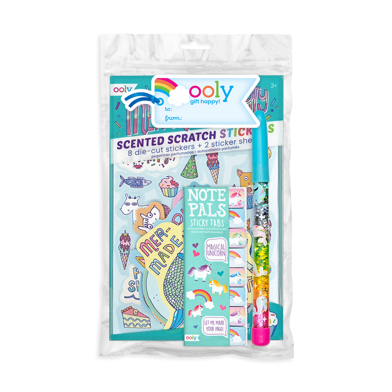 Unicorn And Mermaid Happy Pack