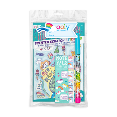 Unicorn and Mermaid themes gift set by OOLY