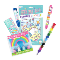 Oh My! Unicorns and Mermaids Happy Pack out of packaging
