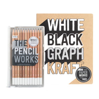 Work-it, Draw-it drawing set with The Pencil Works, Paper Works sketchbook and Mighty pencil sharpener