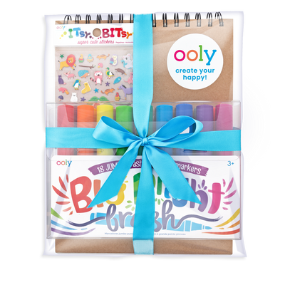 Big and Bright Drawing Pack in wrapped bow set