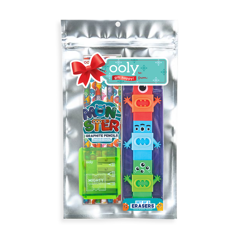 Monster Holiday Happy Pack in packaging