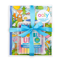 Double Up and Cozy Critters Coloring Giftables Pack
