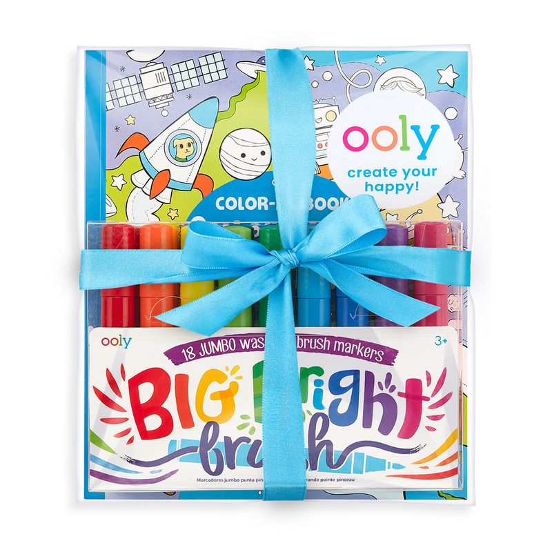 Big and Bright Outer Space Coloring Giftables Pack