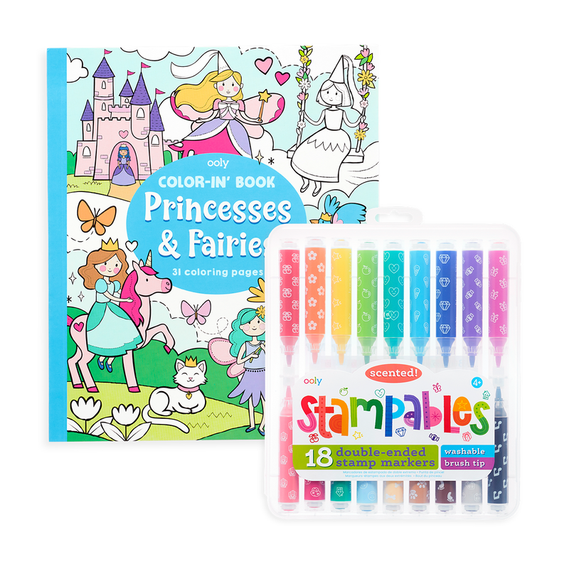 Princess and Fairies Stampable gift set