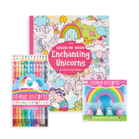 Unique Unicorn Erasable Coloring Giftables Pack