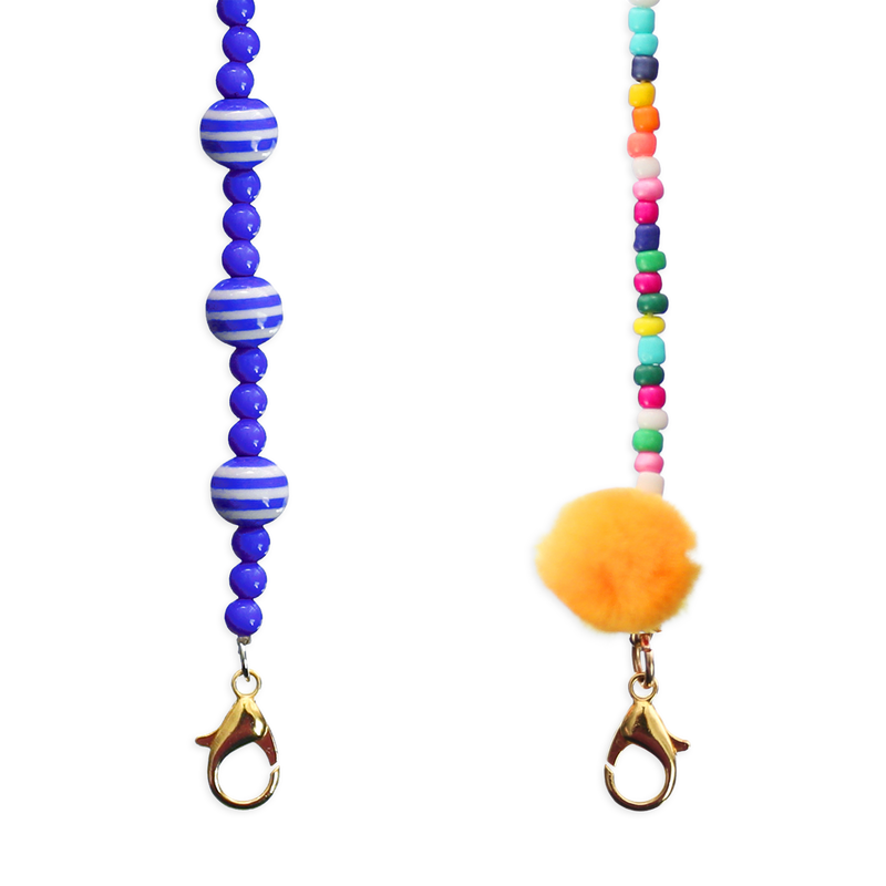 Leona Face Mask Lanyard - set of 2