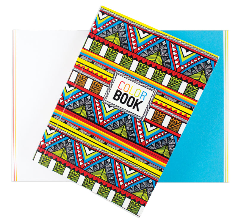 Make Notes Color Book Tribal Ooly