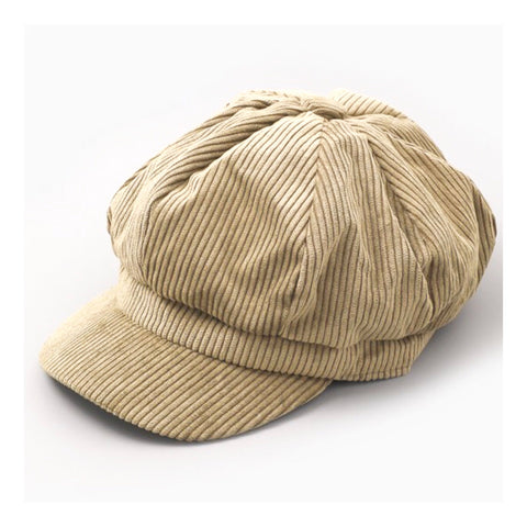 Taupe Corduroy Hat