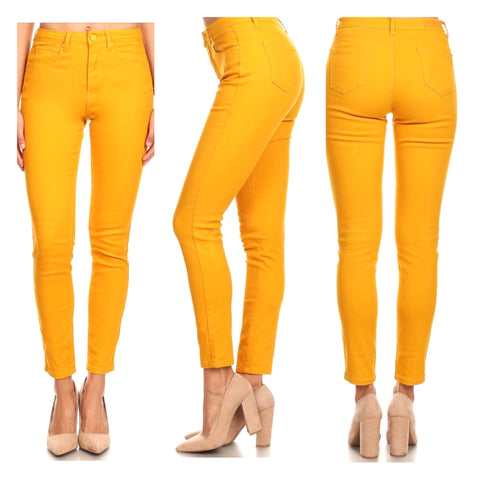 Marigold High Waisted Jeans
