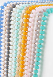 "MIX and MATCH 60"" Frosted Matte Bead Necklaces"