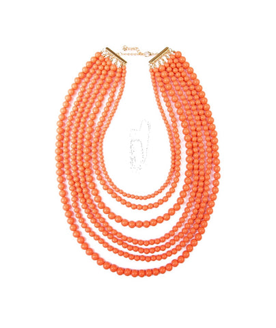 Corral Multi Strand Beaded Necklace