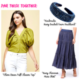 Navy SHIMMER Tiered Ruffle Maxi Skirt