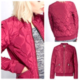 Moroccan Trellis Lighter Weight Puffer Jacket