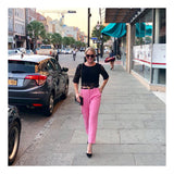 Bubblegum Pink Cigarette Pants (Matching Blazer Sold Separately)