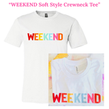 WEEKEND Soft Style Crewneck Tee