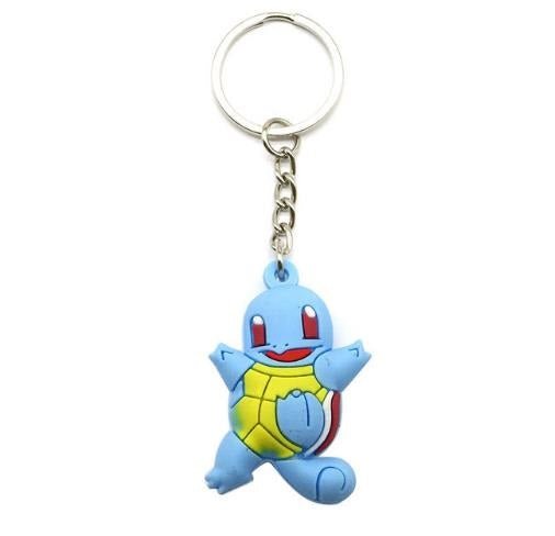 Squirtle 3D Pendant Keychain