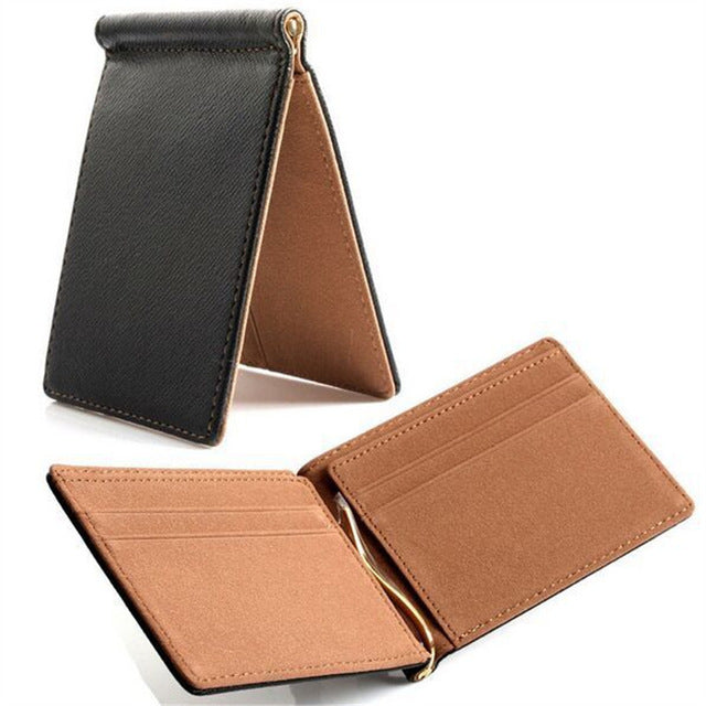 Creative Money Clip Short Wallets