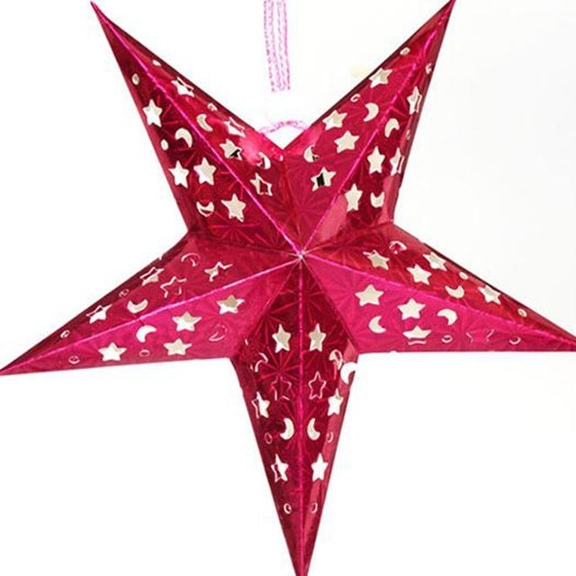 Christmas Hollow Star Decoration