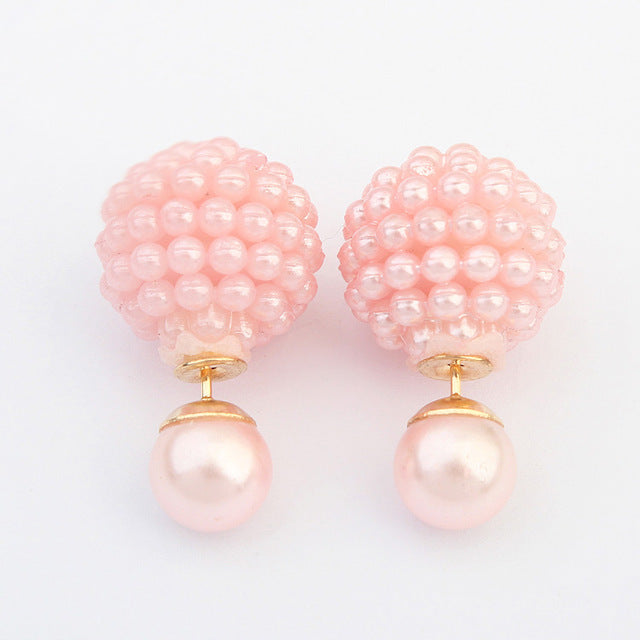 Statement Ball Stud Earrings