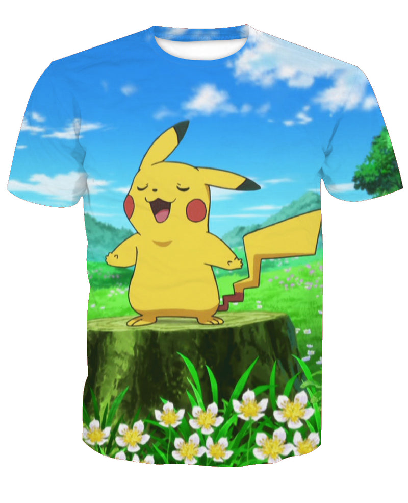 Pokemon Pikachu T Shirt